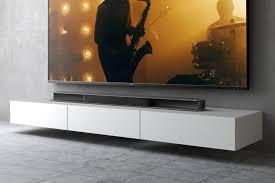 in wall speakers vs soundbar which