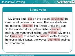 what is descriptive writing ppt 8 descriptive
