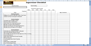 Kitchen Station Task List - Chefs Resources