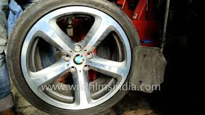 BMW Convertible continental run flat tires bmw price : BMW Run Flat tyres are a failure in India: see how a RFT tyre is ...