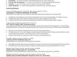 Fresher Resume Sample For Software Engineer Best Of Software Testing Resume Samples For Freshers Yomm