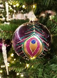 Weihnachtskugeln Lila Geschmackvoller Weihnachtsschmuck