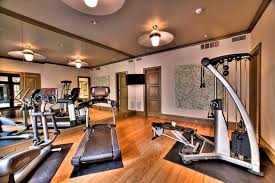 home gym lighting. at home gym contemporary with ceiling lights mirror wall lighting g
