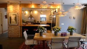 Exposed Brick Kitchen Kitchen Brick Kitchens Classy Industrial Kitchen With Vent Hood