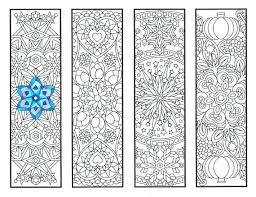Bookmark Coloring Pages Pin By Ob On 3 4 1 2 U Coloring Bookmarks Cool Weather