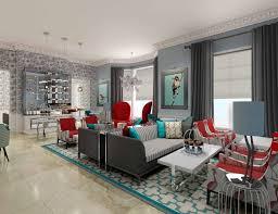 Red And Turquoise Living Room Jean Louis Deniot Interior Designer Loviesspeed Blogspot Livinator