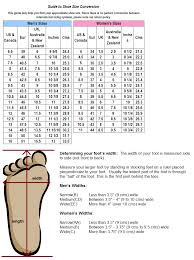 shoe size chart width wide shoe size chart dolap magnetband co