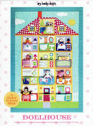 Dollhouse quilt sewing pattern by Amy Bradley Designs