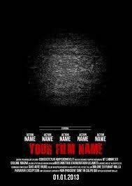 Free Psd Movie Poster Templates Under Fontanacountryinn Com