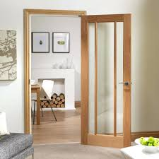 interior door glass panels wood with stained internal french doors