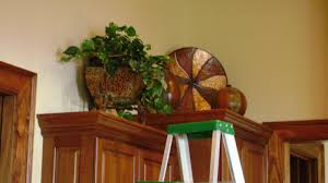decorations on top of kitchen cabinets. Image Of: Decorate Above Kitchen Cabinets Decorations On Top Of O