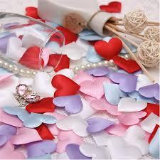 <b>100 PCS</b> DIY Love <b>Heart</b> Shaped <b>Sponge</b> Petal For Marriage Room ...