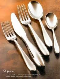 Since 1923 bugatti designs & manufactures in italy products for the table and kitchen that are highly innovative, original and have sophisticated. Bugatti 18 10 Stainless Flatware Italy Nick Munro 46pc 117311020
