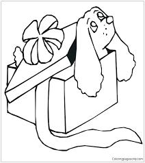 crayon box coloring page box coloring page dog in gift box coloring page crayon box coloring