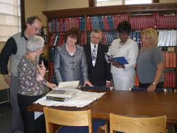 The Provident Bank Donates 19th Century Map-Other Items-to NJ Room - Jersey  City Free Public Library