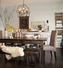 modern rustic dining room. Simple Rustic 2016 Aggregate Dream Home  Users Chose A More Vintageinspired Mismatched  Look With To Modern Rustic Dining Room E
