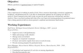 Nursing Student Resume With No Experience Resume Template With No ...