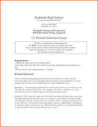University Personal Statement Example   Personal Statement Example Davidson Realty Blog   Jacksonville   St  Augustine FL Real Estate example personal statements personal statement format example essay