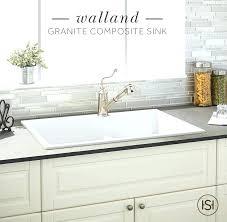 White Drop In Kitchen Sink Plus Best Granite Composite Sinks Ideas