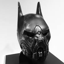 batman helmet redesigned thekevinchen