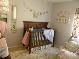 Small Picture Admirable Natural Baby Girl Room Decor With Floral Pattern Printed