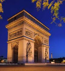 famous buildings. Arc De Triomphe Is Listed (or Ranked) 4 On The List Of Famous Buildings T