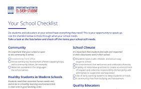 Checklist For School Five Ways To Use Your School Checklist Nea Today