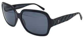 Chanel Black Stunning Quilted 5124 C. 501/87 Sunglasses - Tradesy & 1234 Adamdwight.com