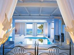 cool bedrooms with pools. Bedroom: Open Plan Beach Theme Bedroom Decor With White Bedding . Cool Bedrooms Pools