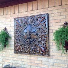 outdoor wall plaques garden ridge metal wall decor exterior wall plaques uk