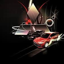 Mitsubishi Lancer Evolution Logo iPad Wallpaper. #iPad #wallpaper ...