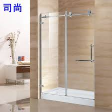 sliding shower door replacement rollers inspirational explosion models hot 304 stainless steel bathroom shower door glass