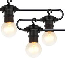 Joyin Lights New Version Joyin 29 Ft Heavy Duty Outdoor String Lights Set With Hanging With