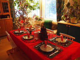 Appealing Christmas Eve Dinner Table Decorations Photos - Best .