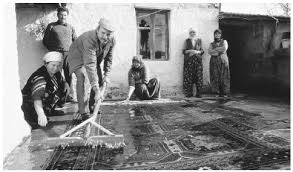 traditional rug washing how were oriental