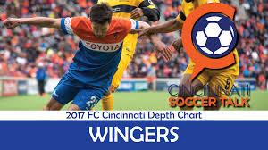 Cincy Depth Chart 2017 Fc Cincinnati Depth Chart Wingers Cincinnati Soccer Talk
