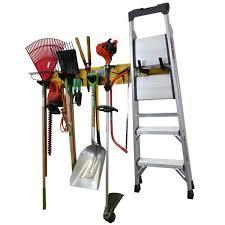 garden tool organizer rack