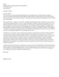 Sample Cover Letters Internship Sample Cover Letter Internship