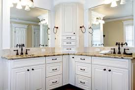 bathroom cabinets with sinks. Download Luxury Large White Master Bathroom Cabinets With Double Sinks. Stock Image - Of Sinks N