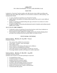 teachers resumes examples teacher resume examples