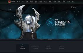 valve releases official dota 2 shanghai major website e sports net