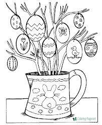 Easter Coloring Worksheets Christian Easter Coloring Pages For