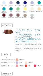 パーソナルカラーがサマーの人 レディースファッション2019