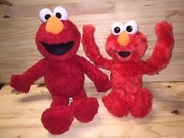 Elmo s world all day with elmo 2013 dvd. Let S Play Elmo Says Sesame Street Puppet Fabric Book Zoe Baby Bear Softplay Htf 11 99 Picclick