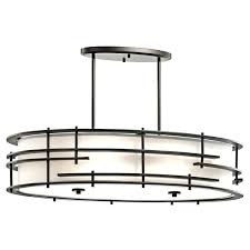 kichler oval chandelier lighting collection 6 light bronze oval chandelier pendant chandelier ceiling fan white