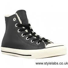 cut converse chuck taylor leather black united kingdom women womens hi storm trainers w