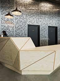 black color furniture office counter design. gallery of oslo skatehall dark arkitekter 15 reception desksreception counter designoffice black color furniture office design e