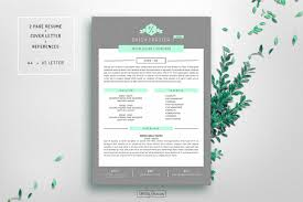 Resume Cv Template For Word Resume Templates Creative Market