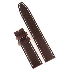 kobold dark brown calfskin watch strap handmade 20mm jpg