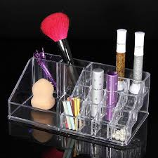 Lipstick Display Stands High Quality Acrylic Makeup Organizer Chic Cosmetic Jewelry 83